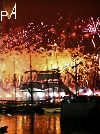 Photo fêtes maritimes de Brest 2008 (1)