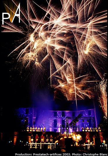 Photo spectacle Les Tambours de feu à Harcourt(5)