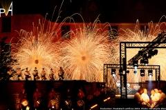 Photo spectacle Les Tambours de feu à Harcourt(1)