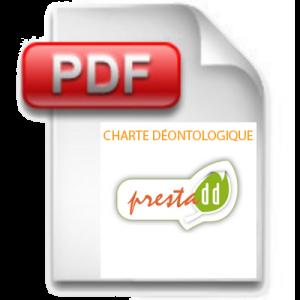 Logo Charte déontologique pdf